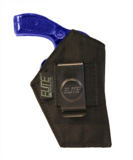Elite IWB Belt Clip Holster for Ruger LCR 2 J Frame Revolvers