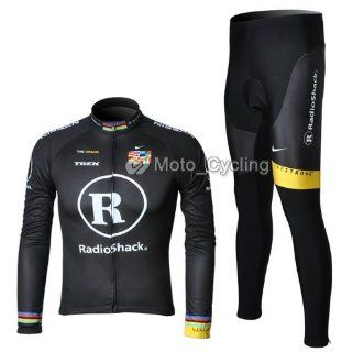 new radoshack trek team long sleeve cycling bicycle/bike