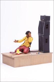 Jimi Hendrix 2 Monterey Mint Stage Figure McFarlane Toys Collectible