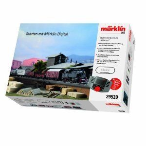 Marklin HO Scale Steam Freight Digital Train Starter Set HO 29539