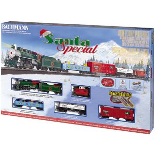 Bachmann HO Train Set Santa Special Starter Train Set