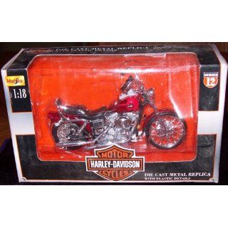 Harley Davidson Die Cast Metal Replica with Plastic