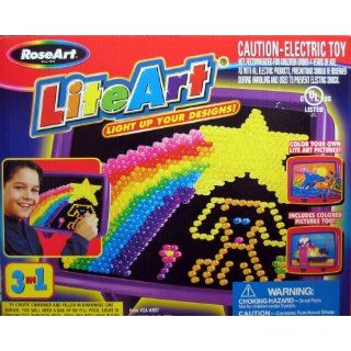 Rose Art Lite Art Light Up Your Designs: Toys & Games