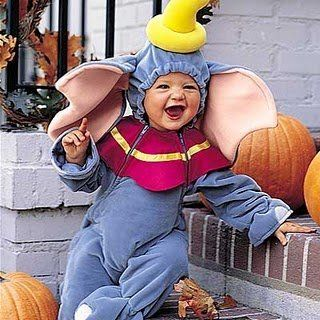 Infant / Baby Disney Dumbo Halloween Costume Size 18 24