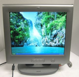 HP Pavilion F70 17 inch Flat Panel LCD Monitor Display VGA DVI 915O