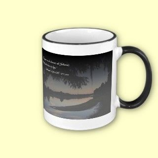 Salmos 119 126 con el rio Hillsborough Tazon mugs by versos_de_la