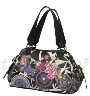 Desigual Womens Handbag Shoulder Hobo Bag 27x5010