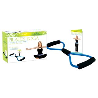home gym equipment figure 8 fitness kit with poster effective for all