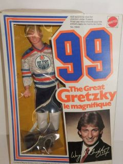 The Great Gretzky Le Magnifique 99 Doll Mattel Hockey Player