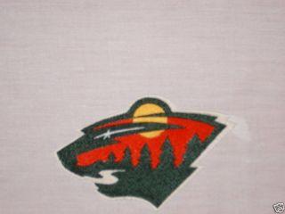 Minnesota Wild Hockey Team Fabric Sport Quilt Block