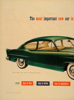 1950 Ad Henry J Sedan Kaiser Frazer Willow Run Car Auto   ORIGINAL