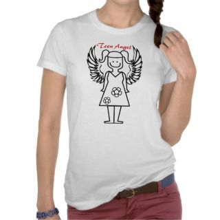 TEEN ANGEL T SHIRT