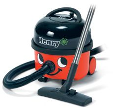 "Numatic ""Henry"" Canister Vacuum Cleaner"