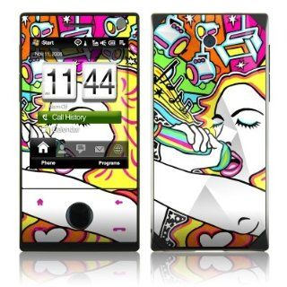 Pop Star Design Protective Skin Decal Sticker for HTC