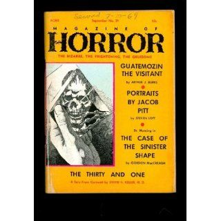 Magazine of Horror #29 David H. Keller, Gordon MacCreagh (The Case of