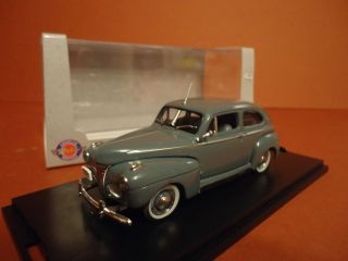 AMERICAN HERITAGE MODELS FORD SUPER DELUXE TWO DOOR 1941 1 43 NEW IN