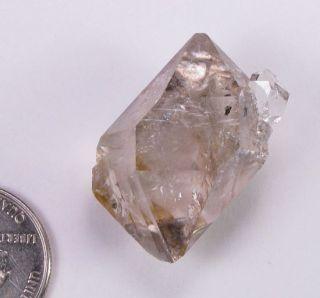 Herkimer Diamond Quartz Crystal Cluster 34mm Smokey NY