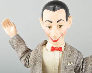 Vintage 18 Pee Wee Herman Pull String Talking Doll