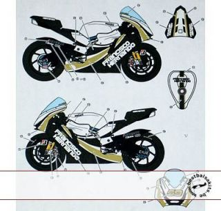 Studio 27 Moto GP 09 Tamiya 1 12 Ducati Hernando II