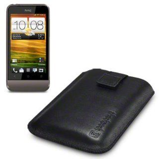 HTC One V Genuine Leather Pocket Case / Pouch / Cover By