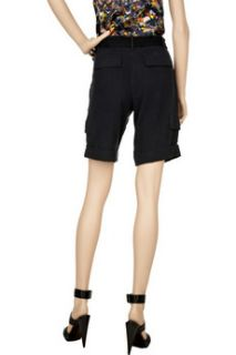 Catherine Malandrino Silk cargo shorts   88% Off