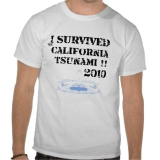 survived the tsunami shirt