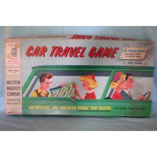 Antique Toy    Milton Bradley Car Travel Game    1958