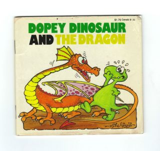 Dopey Dinosaur and The Dragon Childrens Book Mike Higgs