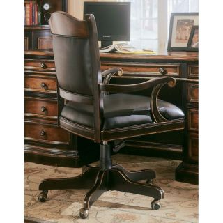 Hooker Furniture High Back Ridge Office Chair with Arms 864 30 220