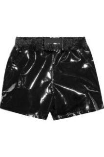 Karl Sabine PVC shorts   70% Off