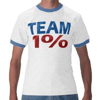 Team One Percent, Anti Occupy Wall Street T Shirt