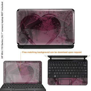 Protective Decal Skin Sticker for HP MINI 110 3030NR, 110
