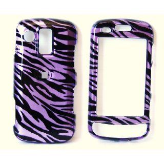 New Purple Black Zebra Stripe Samsung U960 Rogue Snap on