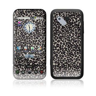 Grey Leopard Decorative Skin Cover Decal Sticker for HTC T