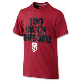 Nike Dri FIT Too Much Awesome Kids Baseball Tee Shirt