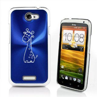 Blue HTC One X Aluminum Plated Hard Back Case Cover P23
