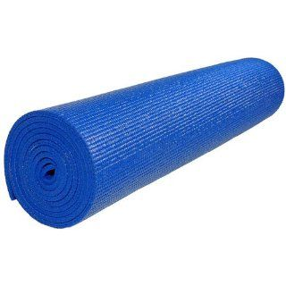 Extra Long (84) Deluxe 1/4 Inch Thick Yoga Mat   Black