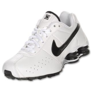 efe913c9ad207b Nike Shox Classic Kids Running Shoes White Black on PopScreen