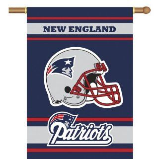 BSS   New England Patriots NFL 2 Sided Banner (28 x 40