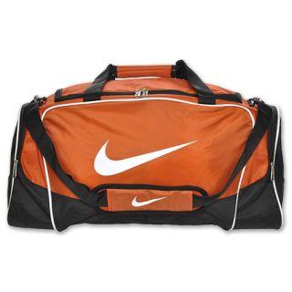 Nike Brasilia 4 Medium Duffel Bag College Orange