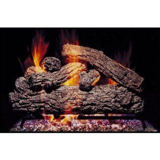 Peterson Gas Logs 30 Inch Rustic Oak Vented Propane Gas
