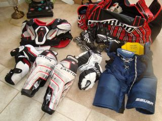 Hockey Gear Multiple Items
