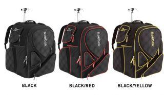 New Reebok 10K Wheeled Hockey Gear Backpack SR