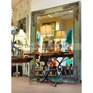 Extra Large 86 FLOOR Wall Mirror Oversize Ornate Gray