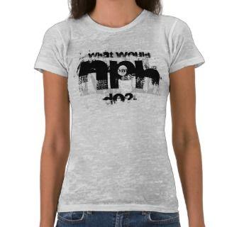 What Would NPH Do? Top T shirt