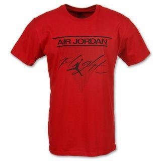 Mens Jordan Classic Flight Tee Shirt Varsity Red