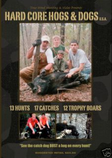 Hog Dog Hunting Video DVD Wild Boar Hunting