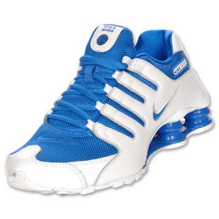 Womens Nike Shox NZ White/Soar/Pure Platinum