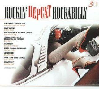 Rockin Hepcat Rockabilly 48 Hits 3 CD Box Set New