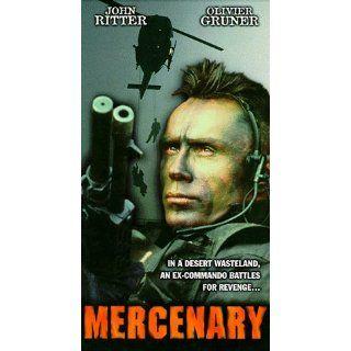 Mercenary [VHS]: Olivier Gruner, John Ritter, Robert Culp